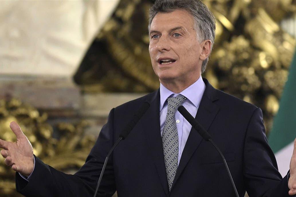 Macri habla del vino en Mendoza el día de la memoria
