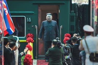 Kim viajó desde Corea del Norte hasta Vietnam en tren