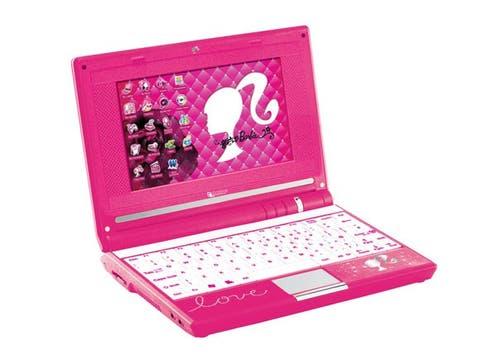 Sólo para chicas muy cibernéticas. La netbook de Barbie cuesta 1500 pesos, y se vende en Coto, Falabella y más. Foto: lanacion.com