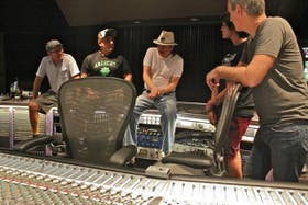 Anteayer, en el estudio de Las Vegas