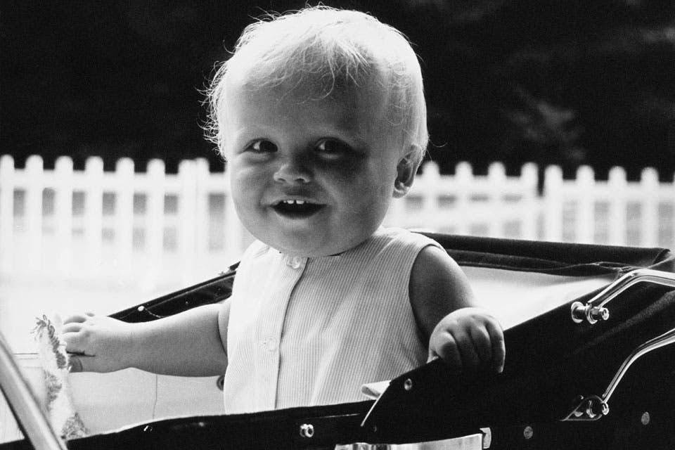 1969: Friso cumplía su primer año. Foto: /AP y Getty Images