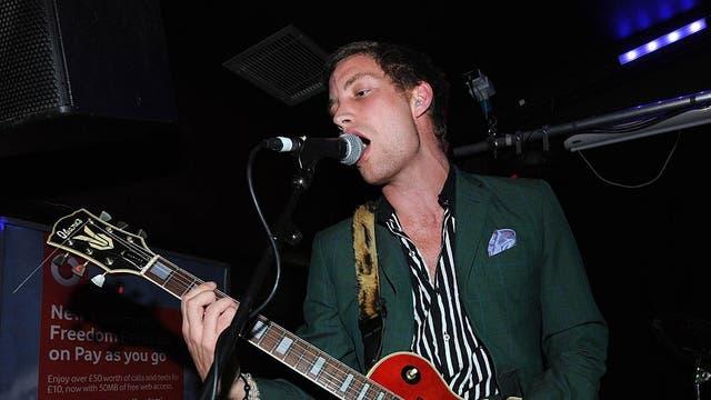 Con su banda Turbogeist durante un concierto en Londres, en septiembre de 2011