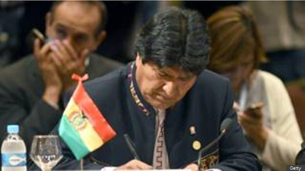 Evo Morales es presidente desde el 22 de enero de 2006