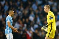 Kun Agüero, de la bronca por el penal errado a la ilusión del City en la Champions League