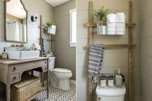 Ideas para un baño con estilo rústico