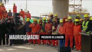 """Macri reconoció el impacto de las medidas, pero advirtió que la economía estaba """"al borde del colaps"""