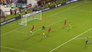 El gol de Haití contra Brasil
