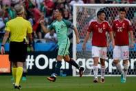 Portugal-Hungría, Eurocopa 2016: Cristiano Ronaldo hizo dos goles, uno de taco, y metió a su equipo en octavos de final