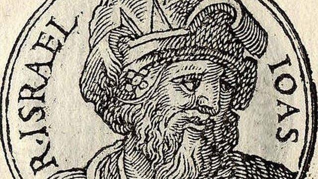 Joás fue el octavo rey de Juda, el único que sobrevivió a una masacre instigada por su abuela paterna Atalía en la que mató a todos los hijos de su difunto hijo, Ocozías de Judá.