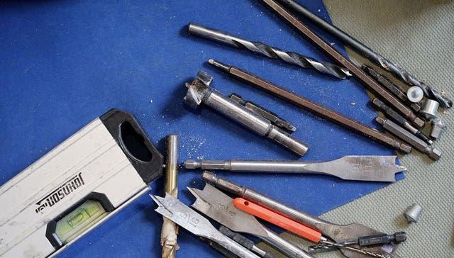 Distintos tipos y medidas de mechas para distintos trabajos