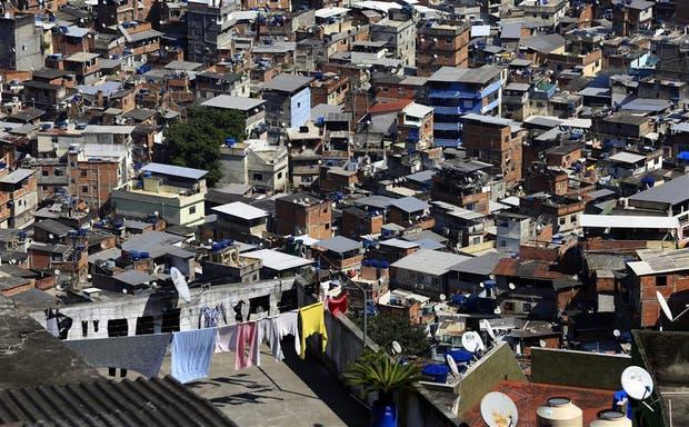 Una imagen de la favela Rocinha, en Río de Janeiro