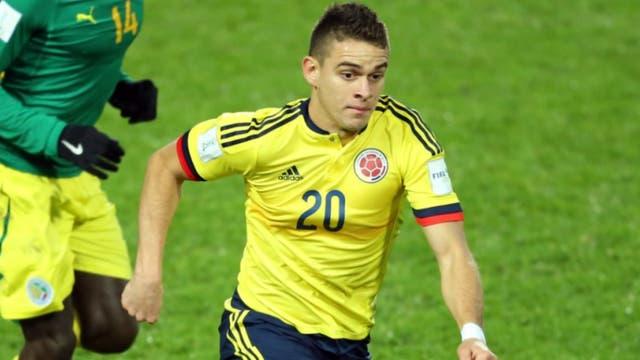 Santos Borré fue suplente en dos partidos de Eliminatorias pero aún no debutó con el seleccionado mayor de Colombia