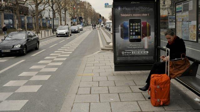 El ladrón robaba en el viaje entre París y Beauvais, en el norte de Francia