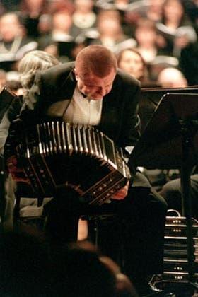 Binelli, un maestro del tango en la catedral de la música clásica