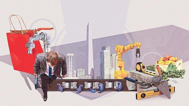 Buenos Aires es una de las ciudades que tienen más distribuida su producción entre diferentes sectores