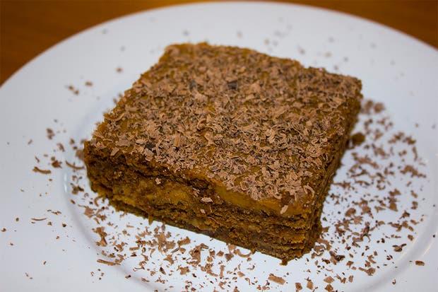 El recomendado: la chocotorta. Foto: Gentileza Agustina Ferreri