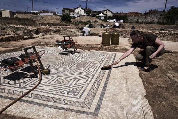 El nivel de conservación de las ruinas ha sorprendido a los arqueólogos.