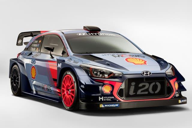 380 CV es la potencia del Hyundai i20 Coupé WRC luego de ser modificado