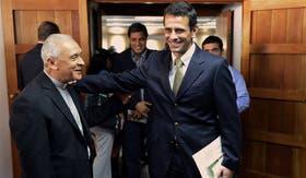 Capriles se reunió esta semana con la Conferencia Episcopal Venezolana