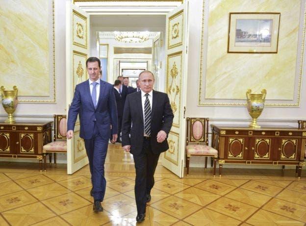 Al Assad encontró en Putin un aliado crucial para su permanencia en el poder