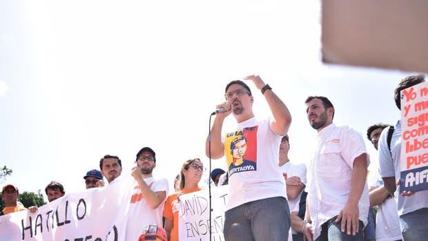 El dirigente venezolano opositor Freddy Guevara