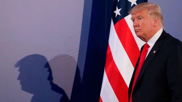 Aislado y contra todos, Trump ratificó ayer su decisión de retirar a su país del histórico Acuerdo de París