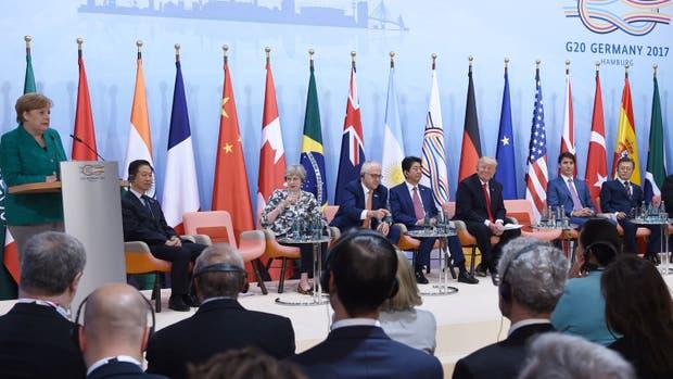 """Los líderes coincidieron en alcanzar un crecimiento """"fuerte, sostenible, equilibrado e inclusivo"""""""