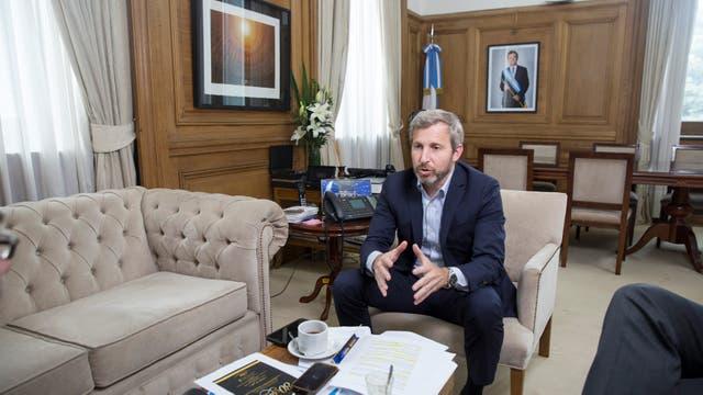 El ministro del Interior, Rogelio Frigerio