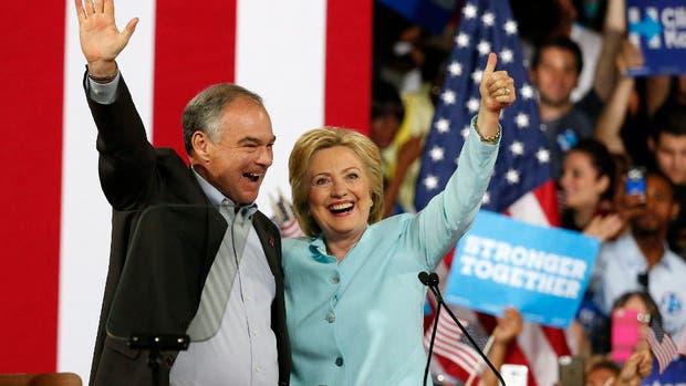 Nominado Tim Kaine como candidato a vicepresidente de Clinton