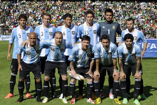 El equipo argentino que se presentó en La Paz