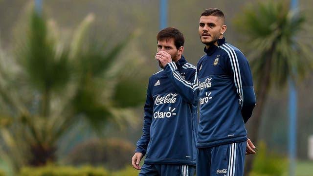 Sampaoli y Messi quieren empezar la sociedad con el pie derecho