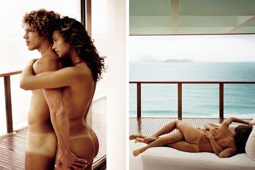 Débora Nascimento y José Loreto son pareja en la ficción y en la vida real. Foto: Vogue Brasil