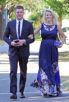 La semana pasada, Luisana y Michael fueron a una boda.