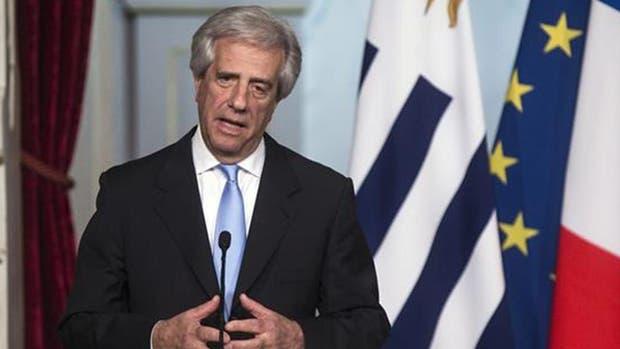 El presidente de Uruguay, Tabaré Vázquez