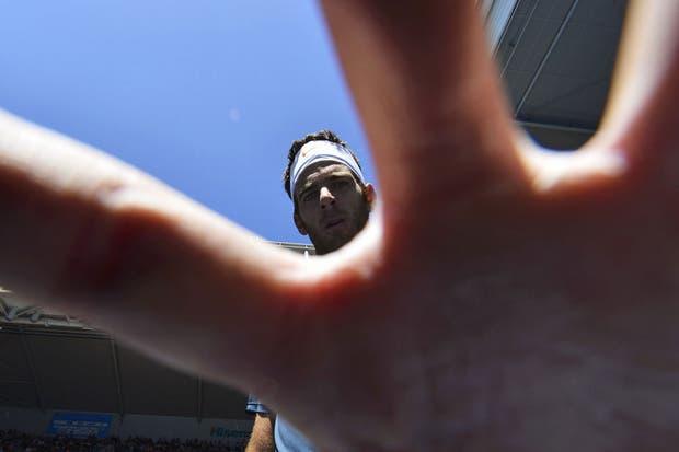 Con la semanita libre, Delpo se consiguió un laburito para MDQ para todo el mundo.....  Foto:Reuters