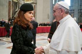 El día que el Papa Francisco recibió a Cristina Kirchner