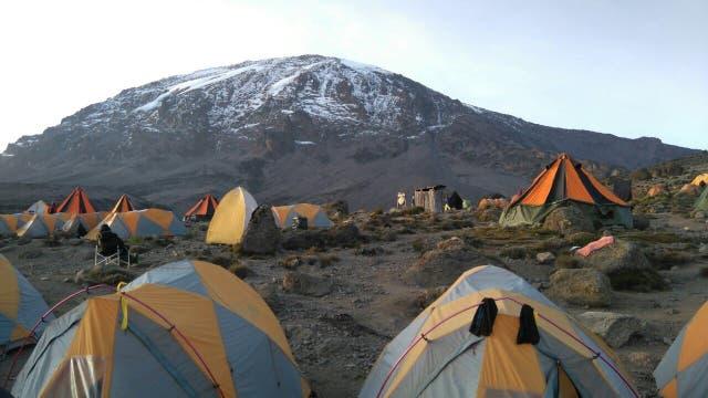 El campamento. FOTO: Dana Rosiger.