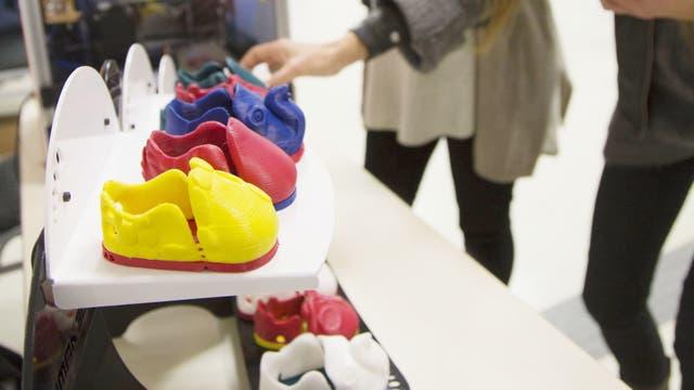 Chimitas, el primer calzado infantil hecho con impresoras 3D en un termoplástico no tóxico, ya está a la venta