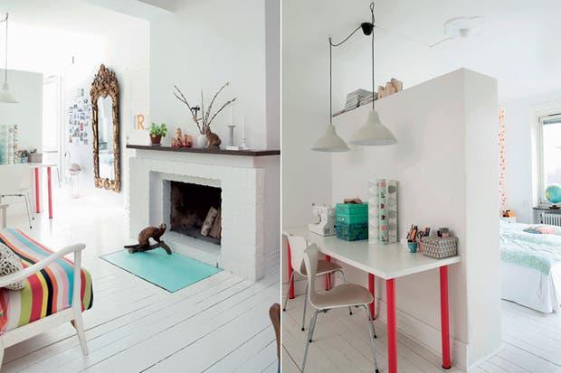10 ideas para dividir tu monoambiente   living   espacio living