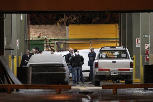 Frente del Ceamse donde la policía realizó diferentees peritajes. Foto: LA NACION / Fabián Marelli