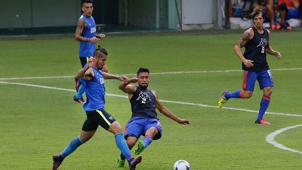 Boca empató con Tigre en un amistoso