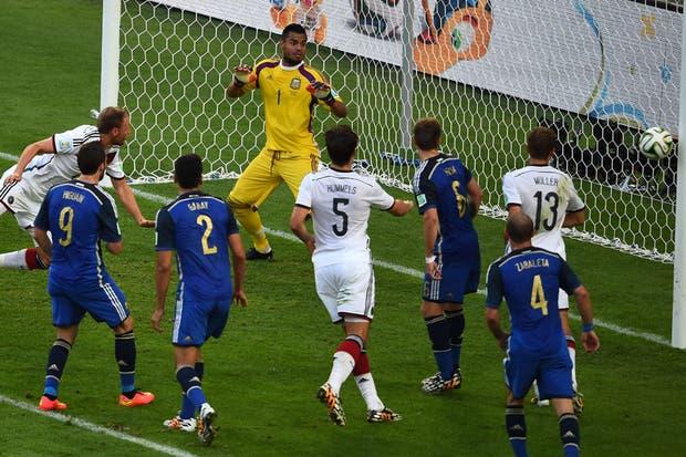La Argentina perdió con Alemania 1-0 en la final.  Foto:AFP