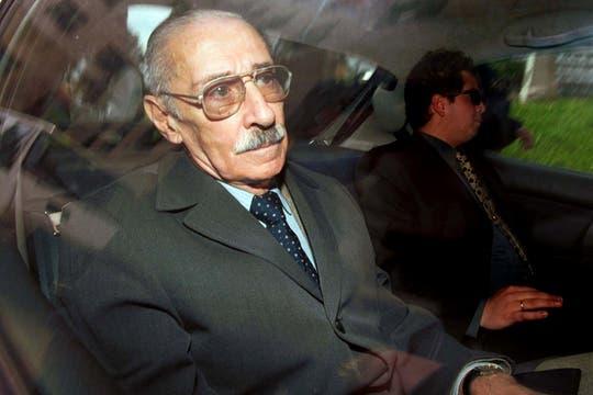 El 10 de octubre de 2008 es trasladado desde su casa a la cárcel de Campo Mayo. Foto: Archivo