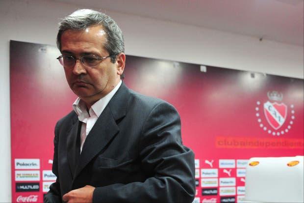 Cantero terminaba su presidencia en diciembre