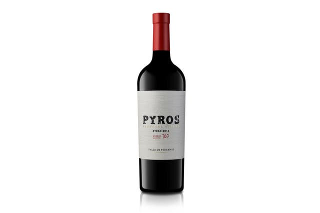 Pyros Barrel Select Syrah 2015