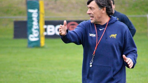 Daniel Hourcade encara otro Rugby Championship con los Pumas