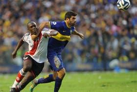 River le ganó a Boca 2 a 1 y es escolta en el torneo Final.Volvió a ganar en la Bombonera después de 10 años