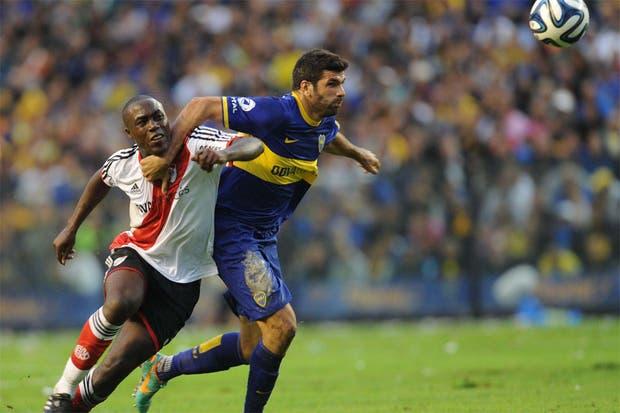River le ganó a Boca 2 a 1 y es escolta en el torneo Final.Volvió a ganar en la Bombonera después de 10 años.  Foto:Télam