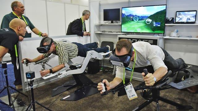 Máquinas de ejercicios de realidad virtual (ICAROS)