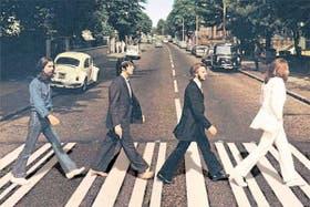 CÉLEBRE. La portada de Abbey Road, fuente de múltiples interpretaciones